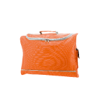 Documententas met pocket, polyester 600D oranje 211049