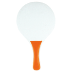 Beach tennisset in net oranje 880086
