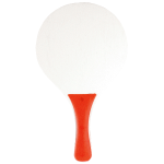 Beach tennisset in net rood 880086