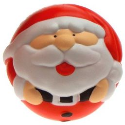Antistress Kerstman stressbal Ø 68 mm 9595