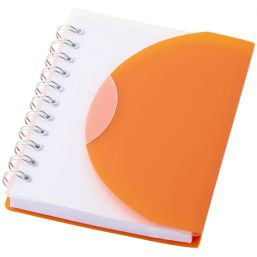 Post A7 notitieboek orange/transpar 106387
