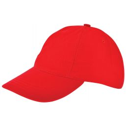 Kinder brushed promo cap rood 1750