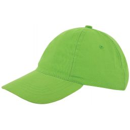 Kinder brushed promo cap lichtgroen 1750