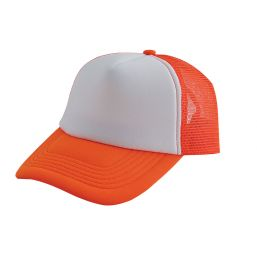 Originele trucker cap oranje/wit 2130