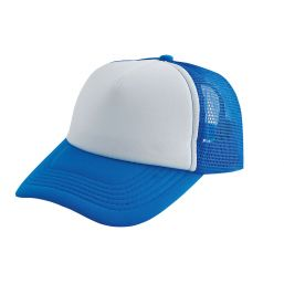 Originele trucker cap cyaan/wit 2130