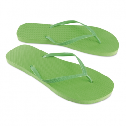 PE slippers lime MO8045